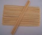 Round Bamboo Skewers with Double Pointed