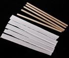 Individual Paper Wrapped Wooden Coffee Stirrer