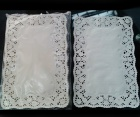 Rectangular White Paper Doily