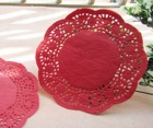 Round Color Paper Doily