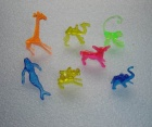 Animal Shaped Plastic Food Decoration